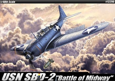 "Academy 12296 SBD-2 Dauntless ""Battle of Midway"""