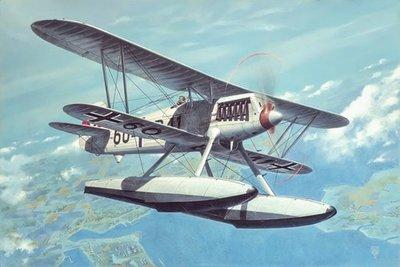 Roden 453 Heinkel He-51 B.2 Float Plane