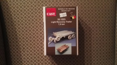Resicast 351223 Light Recovery Trailer 7,5 ton