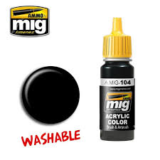 A.mig 104 Washable Black