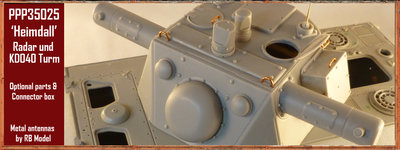 Paper Panzer Productions Radar und Kdo Turm Heimdall