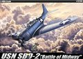 Academy-12296-SBD-2-Dauntless-Battle-of-Midway