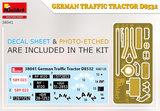 MiniArt 38041 - GERMAN TRAFFIC TRACTOR D8532 - 1:35_