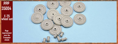 Paper Panzer PPP35004  Wheel set for Trumpeter E75