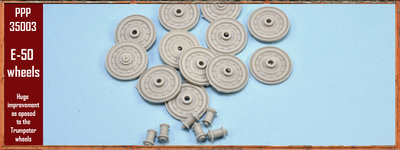 Paper Panzer PPP35003 E50 Wheel set for Trumpeter E50