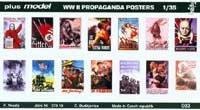Plus Models 003  WWII PROPAGANDA POSTER 1/35