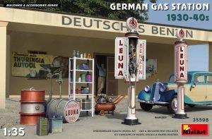 MiniArt 35598 GERMAN GAS STATION 1930-40