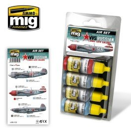 MIG  MIG-7223 VVS RUSSIAN WWII late colors