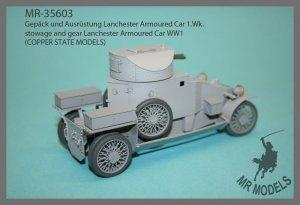 MR Modellbau  MR - 35603 Gepackset Lanchester Armoured Car ( WW I )