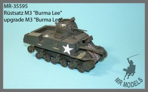 MR Modellbau  MRA - 35594  M3 Grant Britsche Armee Nordafrika