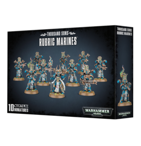 Warhammer 40K, 43-35,  Thousand Sons, Rubric Marines