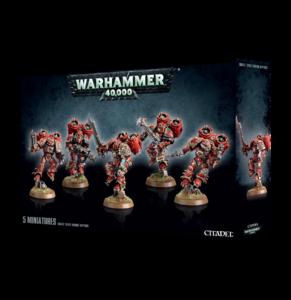 Warhammer 40K, 43-13, Chaos Space Marines, Raptors