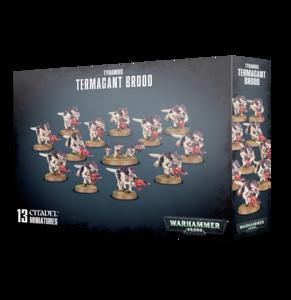 Warhammer 40K, 51-16, Tyranid Termagant Brood