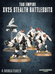 Warhammer 40K, 56-14, T'AU EMPIRE  XV25 Stealth Battlesuits