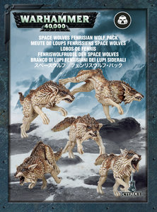 Warhammer 40K , 53-10, SPACE WOLVES FENRISIAN WOLF PACK