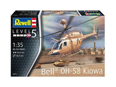 Revell 03871 Bell OH-58 Kiowa