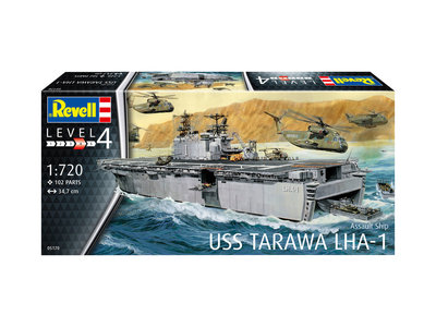 Revell 05170 USS Tarawa LHA-1