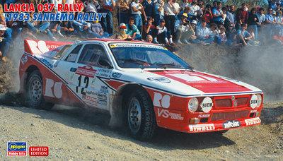 Hasegawa 20299 Lancia 037 Rally 1983 Sanremo Rally
