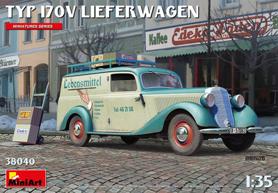 MiniArt 38040 Typ 170V Lieferwagen 1:35