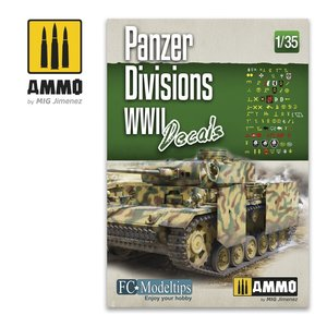 Ammo by Mig A.mig 8061 Panzer Divisions wwII Decals