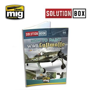 Ammo by Mig A.mig 6502 Solution Book WWII Luftwaffe Late Fighter (Taal: Engels)