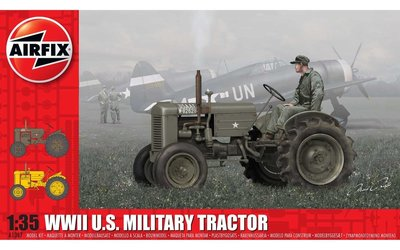 Airfix A1367 WWII U.S. Military Tractor 1:35