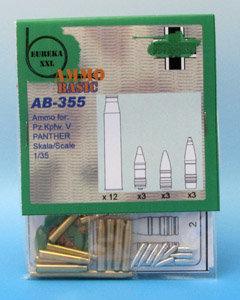 Eureka XXL AB-355 / AB-3505 - Ammo Basic Set - 7,5 cm Ammo for Kw.K.42 - 1:35