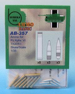 Eureka XXL AB-357 / AB-3507 - Ammo Basic Set - 8,8 cm Ammo for Kw.K.36 - 1:35