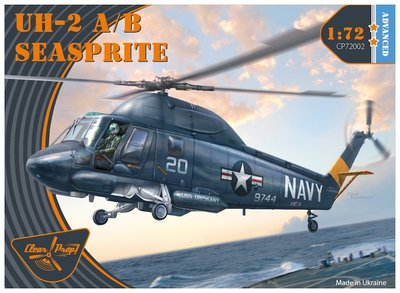 CP72002 - UH-2A/B Seasprite (Advanced kit) - 1:72 - [Clear Prop Models]