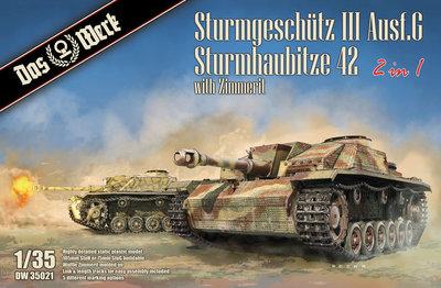 Das Werk DW35021 StuG Ausf. G/Sturmhaubitze 42