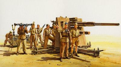 Tamiya 35283 German 88mm Gun Flak36