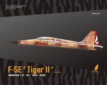 DreamModel DM720013 - F-5E 'Tiger II' (Early Version) - 1:72