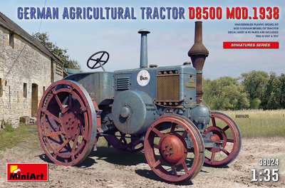 MiniArt 38024 - German Agricultural Tractor D8500 Mod. 1938 - 1:35