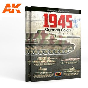 1945 GERMAN COLORS. CAMOUFLAGE PROFILE GUIDE - [ AK Interactive ]