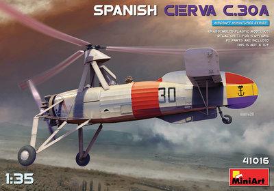 MiniArt 41016 - Spanish Cierva C.30A - 1:35