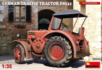 MiniArt 38041 - GERMAN TRAFFIC TRACTOR D8532 - 1:35
