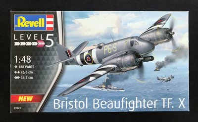 Revell 03943 Bristol Beaufighter TF. X 1:48