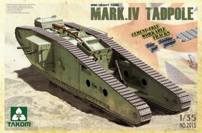 Takom 2015 Mark. IV. Tadpole