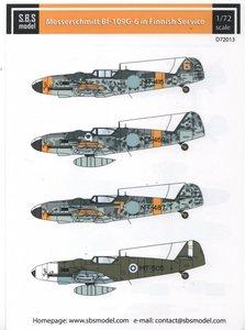 SBS Model D72013 Messerschmitt Bf 109 G-6 in Finnish Service