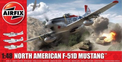 Airfix A05136 North American F-51D Mustang