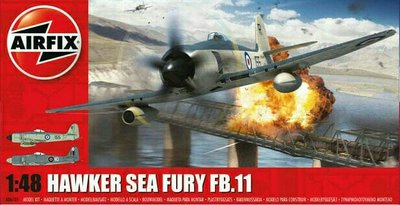 Airfix A06105 Hawker Sea Fury FB.11