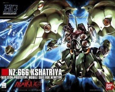Bandai HG 0160542 NZ-666 Kshatriya