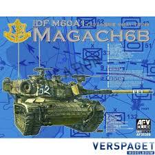 AFV Club AF35309 IDF M60A1 Magach 6B