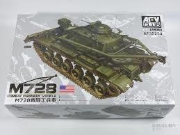 AFV Club AF35254 M728 Combat Engineer Vehicle