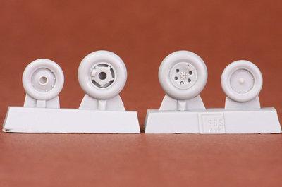 SBS model  48046 Folland Gnat T.1 wheelset for Airfix kit.