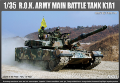 Academy 13215 R.O.K. Army K1A1 Main Battle Tank