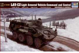 Trumpeter 00371 USMC LAV-C2 Light Armored Vehicle-Command and Control