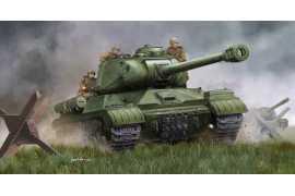 Trumpeter 05590 Soviet JS-2M Heavy Tank ( Late )   -Metal barel -