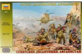 "Zvezda 3619 SOVIET PARATROOPERS . ""Afghanistan"""
