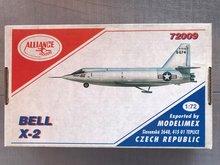 Alliance Models 72009 - Bell X-2 - 1:72
